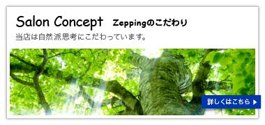 Zeppingのこだわり
